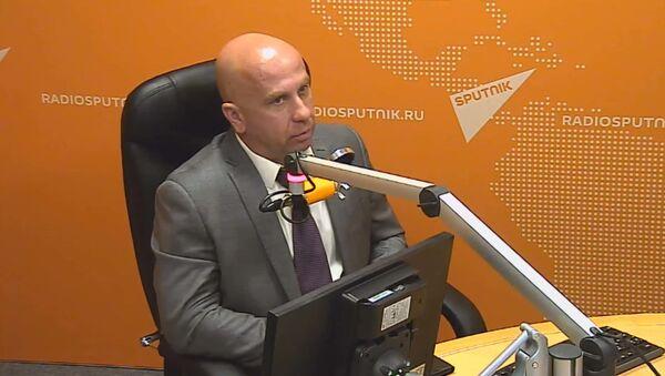 Член ассоциации группы антитеррора Альфа, подполковник запаса Андрей Попов - Sputnik Тоҷикистон