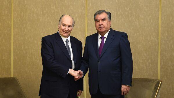 Встреча Эмомали Рахмона и Карима Ага-Хана lV - Sputnik Таджикистан