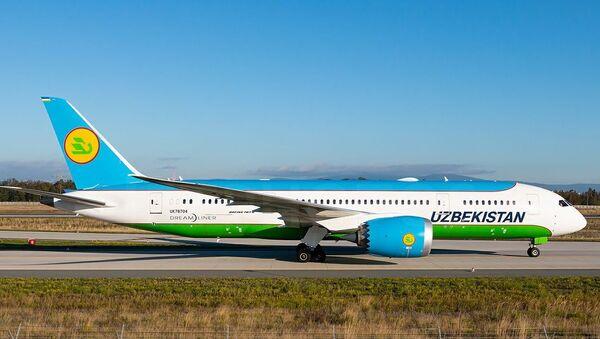 Самолет Uzbekistan Airways - Sputnik Тоҷикистон