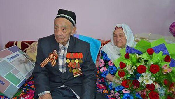 Последний ветеран ВОВ в Худжанде Курджон Ахмедов - Sputnik Таджикистан
