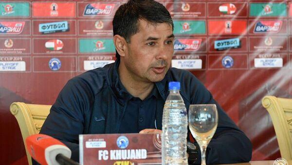 Известный таджикский тренер Нумонджон Юсупов  - Sputnik Таджикистан