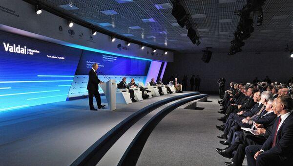 XIII ежегодное заседание Международного дискуссионного клуба Валдай - Sputnik Таджикистан