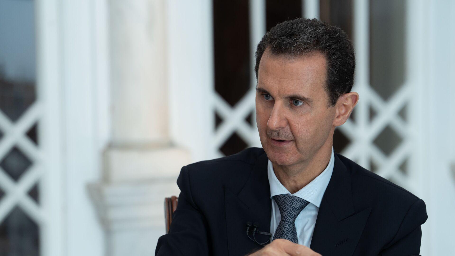 Президент Сирии Башар Асад. Архивное фото - Sputnik Тоҷикистон, 1920, 14.09.2021