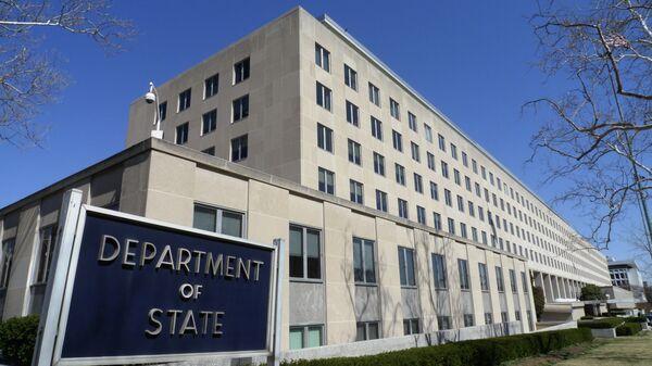 Здание Госдепартамента США в Вашингтоне - Sputnik Тоҷикистон