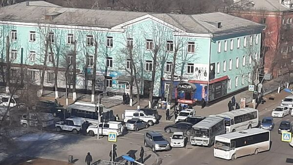 Стрельба в колледже Благовещенска - Sputnik Таджикистан