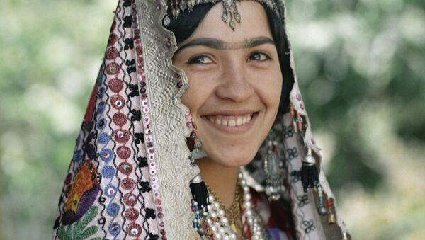 Таджикская невеста. - Sputnik Таджикистан