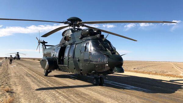 Вертолет Airbus ВВС Узбекистана - Sputnik Таджикистан