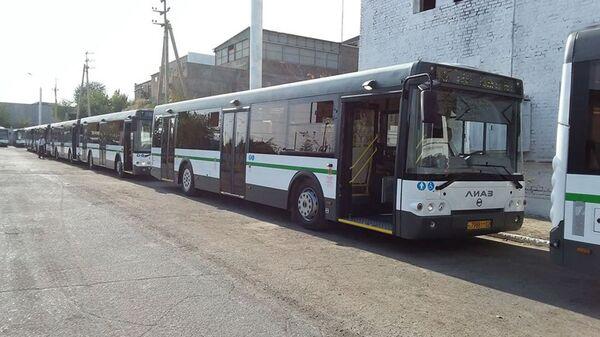 В Худжанде вводят в эксплуатацию автобусы с электронной системой платежей - Sputnik Тоҷикистон
