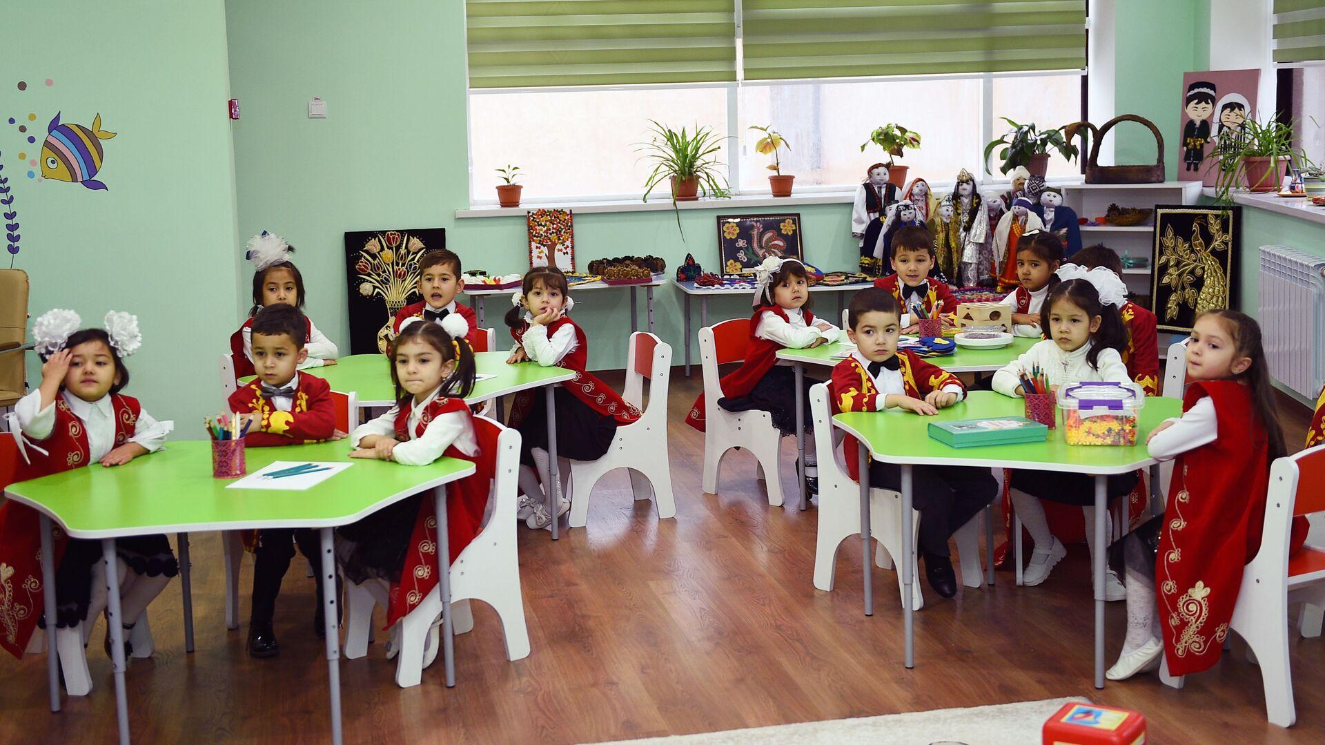Открытие нового детского сада в Душанбе - Sputnik Тоҷикистон, 1920, 22.09.2021
