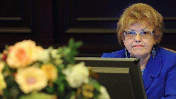 Вице-президент Российского союза ректоров Людмила Вербицкая - Sputnik Таджикистан
