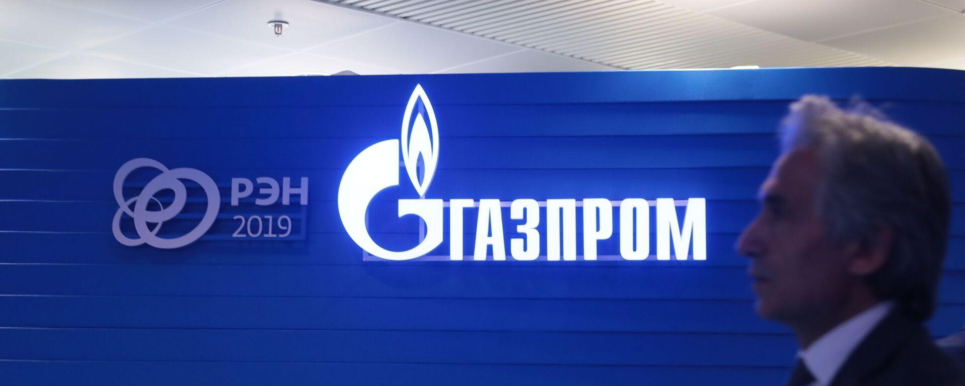 Логотип ПАО Газпром - Sputnik Тоҷикистон, 1920, 24.07.2020
