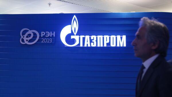 Логотип ПАО Газпром - Sputnik Тоҷикистон
