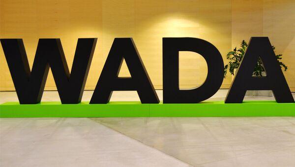 Аббревиатура всемирного антидопингового агентства WADA - Sputnik Таджикистан