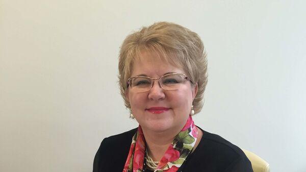 Руководитель проекта по развитию экспортной логистики РЭЦ Алевтина Кириллова - Sputnik Таджикистан