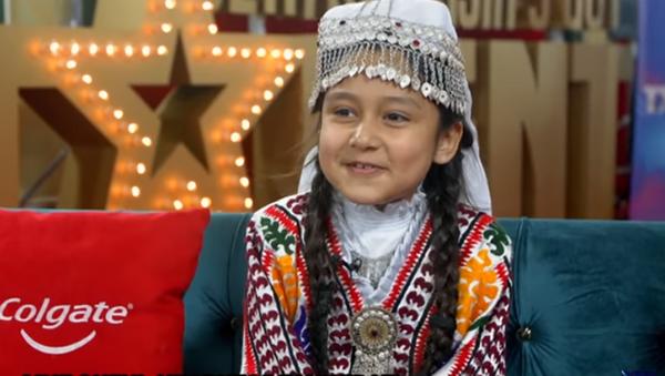 Танцующая девочка из Таджикистана на Central Asia Got Talent - Sputnik Тоҷикистон