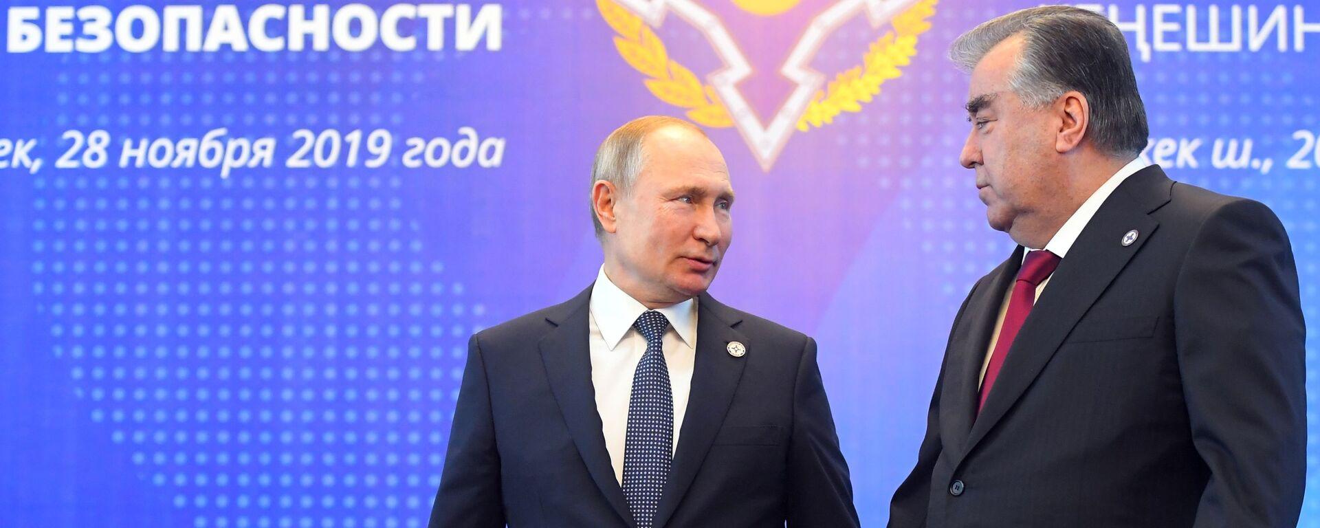 Рабочий визит президента РФ В. Путина в Кыргызстан - Sputnik Тоҷикистон, 1920, 14.09.2021