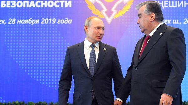 Рабочий визит президента РФ В. Путина в Кыргызстан - Sputnik Тоҷикистон