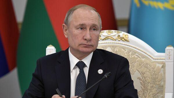 Рабочий визит президента РФ В. Путина в Киргизию - Sputnik Таджикистан