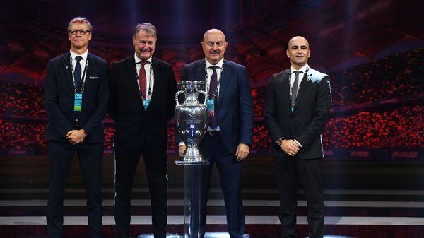 Жеребьевка ЧЕ-2020 по футболу - Sputnik Таджикистан