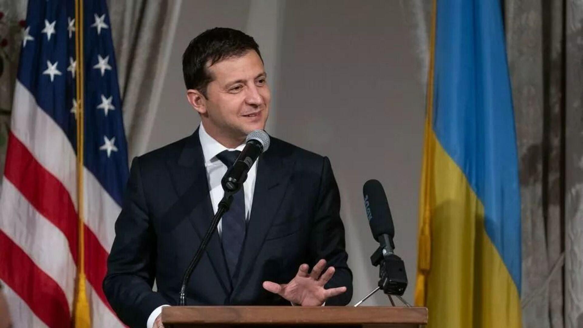 Президент Украины Владимир Зеленский - Sputnik Таджикистан, 1920, 14.09.2021