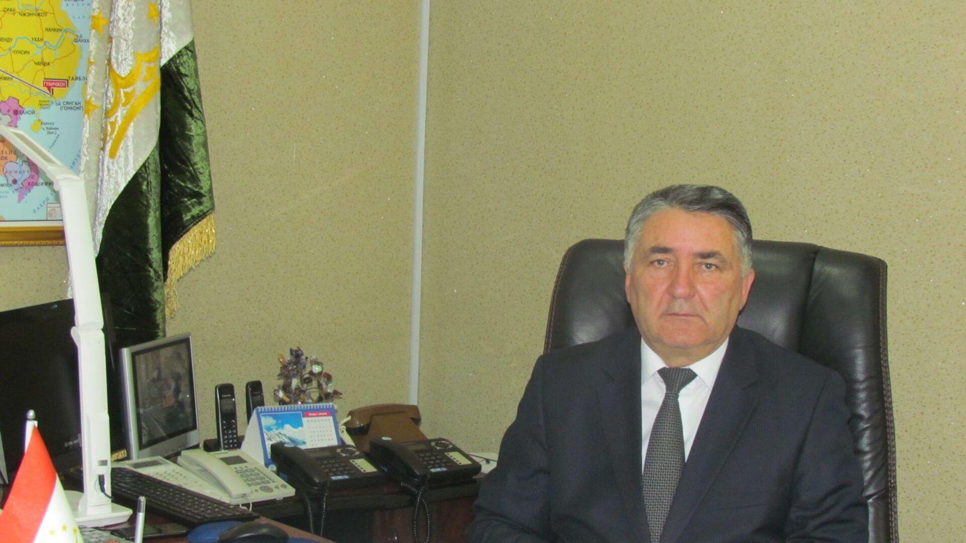 Министр транспорта Республики Таджикистан Худоёрзода Худоёр Завкибек - Sputnik Тоҷикистон, 1920, 04.04.2021