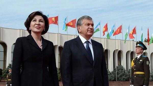 Шавкат и Зироатхон Мирзиёевы - Sputnik Таджикистан