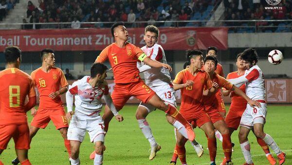 Сборная Таджикистана (U-22) уступила Китаю в стартовом матче на турнире в Чжухае - Sputnik Тоҷикистон