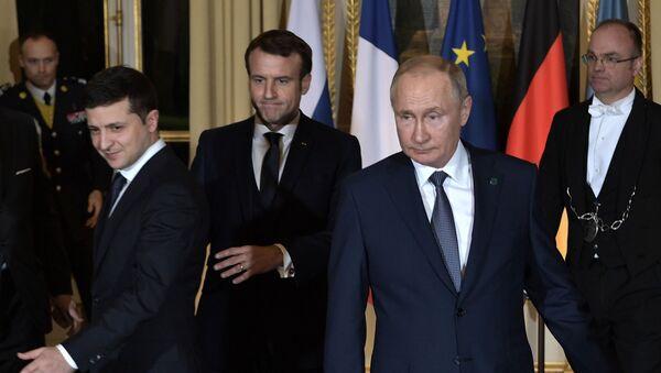Встреча нормандской четверки - Sputnik Таджикистан