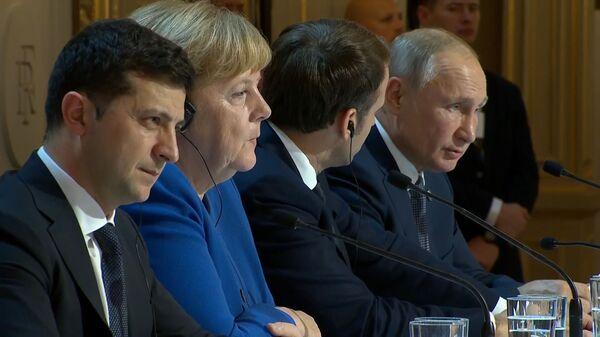 Путин дар бораи гарм шудани муносибатҳои Русия ва Украина - YouTube - Sputnik Тоҷикистон