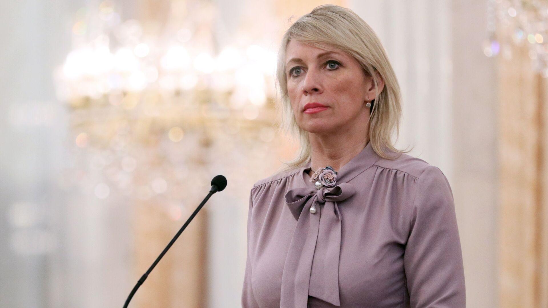 Официальный представитель Министерства иностранных дел России Мария Захарова  - Sputnik Таджикистан, 1920, 26.05.2021