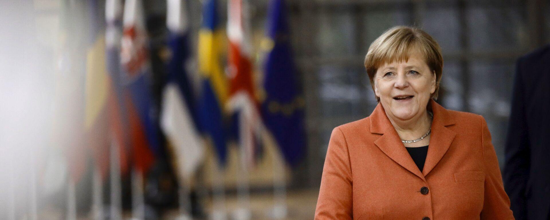 Канцлер Германии Ангела Меркель - Sputnik Таджикистан, 1920, 06.09.2021