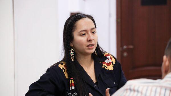 Певица Манижа на интервью - Sputnik Таджикистан