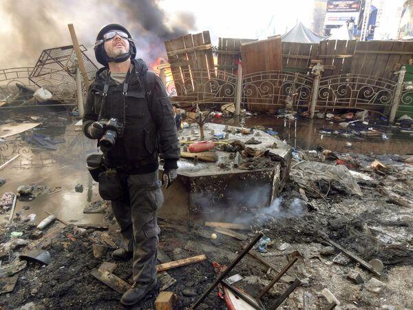 Фотограф Андрей Стенин в Киеве - Sputnik Таджикистан