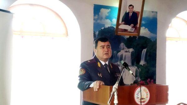 генерал-майори милитсия Азизулозода Сафиало Азизуло  - Sputnik Тоҷикистон