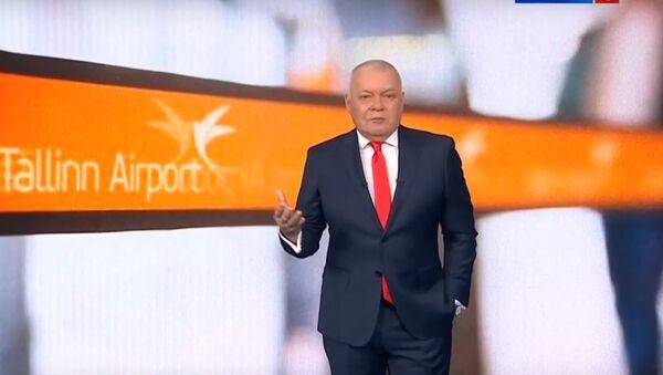Дмитрий Киселев прокомментировал угрозы Sputnik Эстония - Sputnik Тоҷикистон