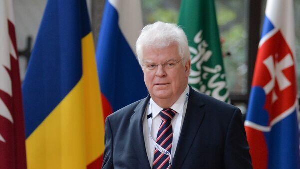 Постоянный представитель Российской Федерации при Европейском союзе Владимир Чижов - Sputnik Таджикистан