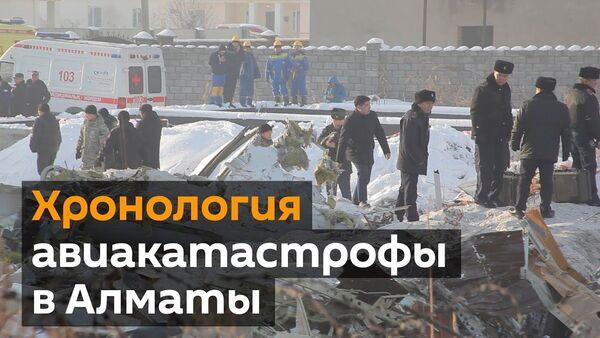 Суқути ҳавопаймо дар Алмаато - Sputnik Тоҷикистон