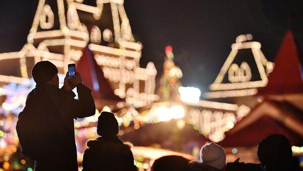 Празднование Нового года в Москве - Sputnik Таджикистан