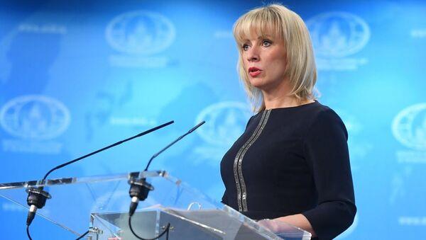 Мария Захарова прокомментировала убийство генерала Сулеймани - Sputnik Таджикистан