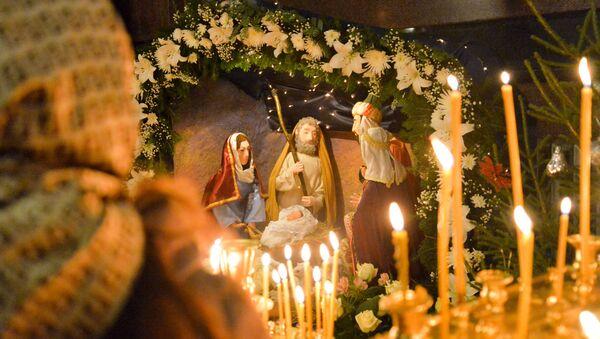 Празднование Рождества Христова - Sputnik Таджикистан
