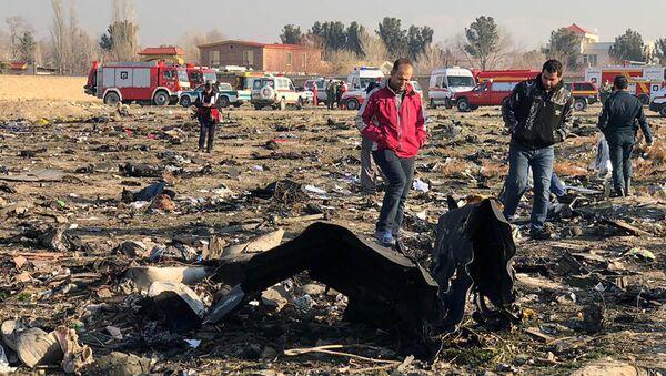 Крушение украинского самолета в Иране - Sputnik Тоҷикистон