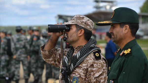 Военнослужащие армии Ирана, архивное фото - Sputnik Таджикистан