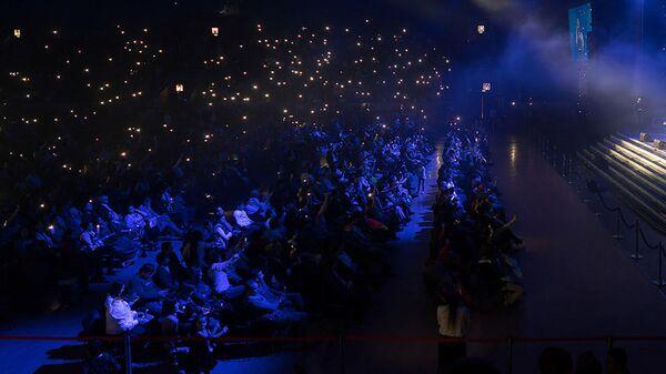Зрители на концерте, архивное фото - Sputnik Тоҷикистон