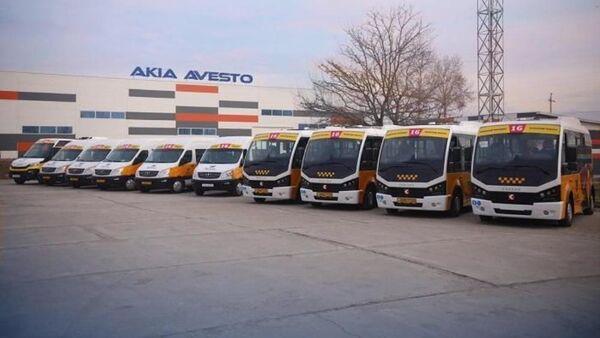 Новые маршрутки запустили в Душанбе - Sputnik Таджикистан