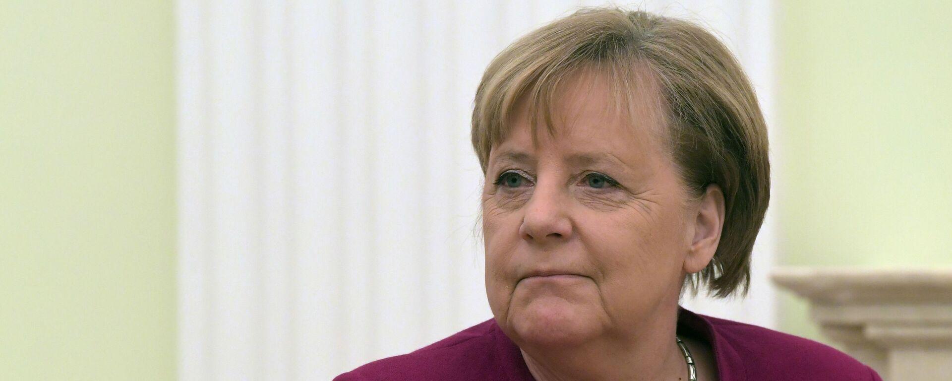Федеральный канцлер Германии Ангела Меркель - Sputnik Тоҷикистон, 1920, 29.09.2020