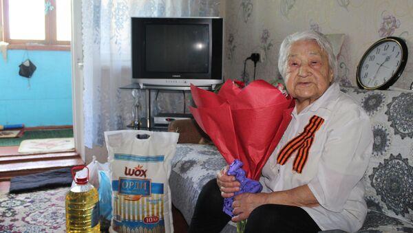 Рабига Малинина - последний ветеран ВОВ в городе Худжанд - Sputnik Таджикистан