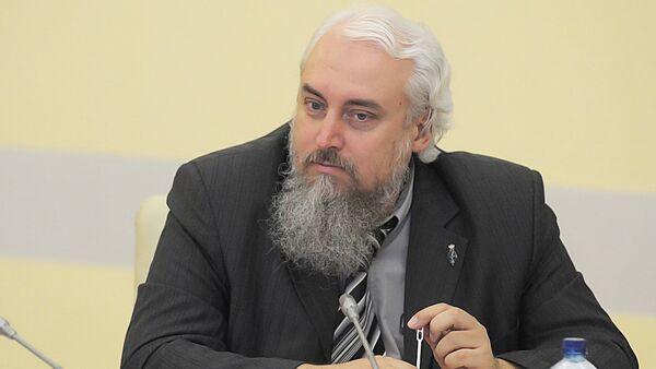 Заместитель директора Российского института стратегических исследований  Михаил Смолин - Sputnik Таджикистан