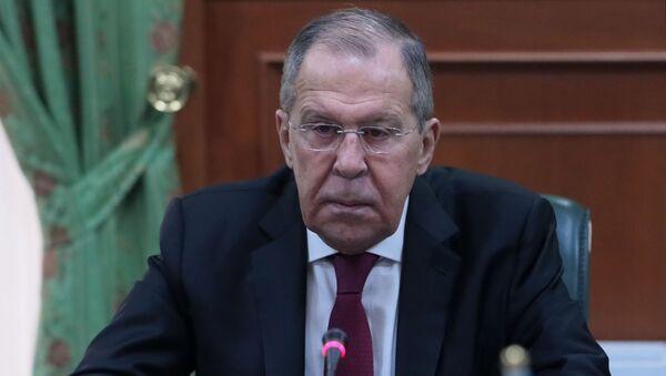 Исполняющий обязанности министра иностранных дел РФ Сергей Лавров - Sputnik Тоҷикистон