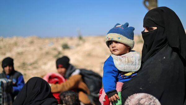 Сирийские беженцы  - Sputnik Таджикистан