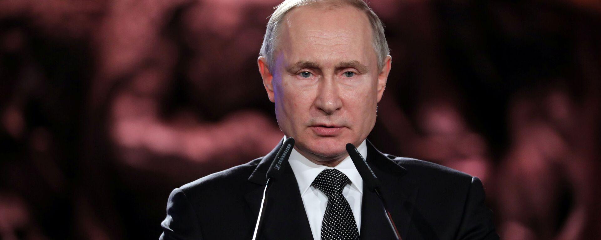 Президент России Владимир Путин - Sputnik Таджикистан, 1920, 23.01.2020